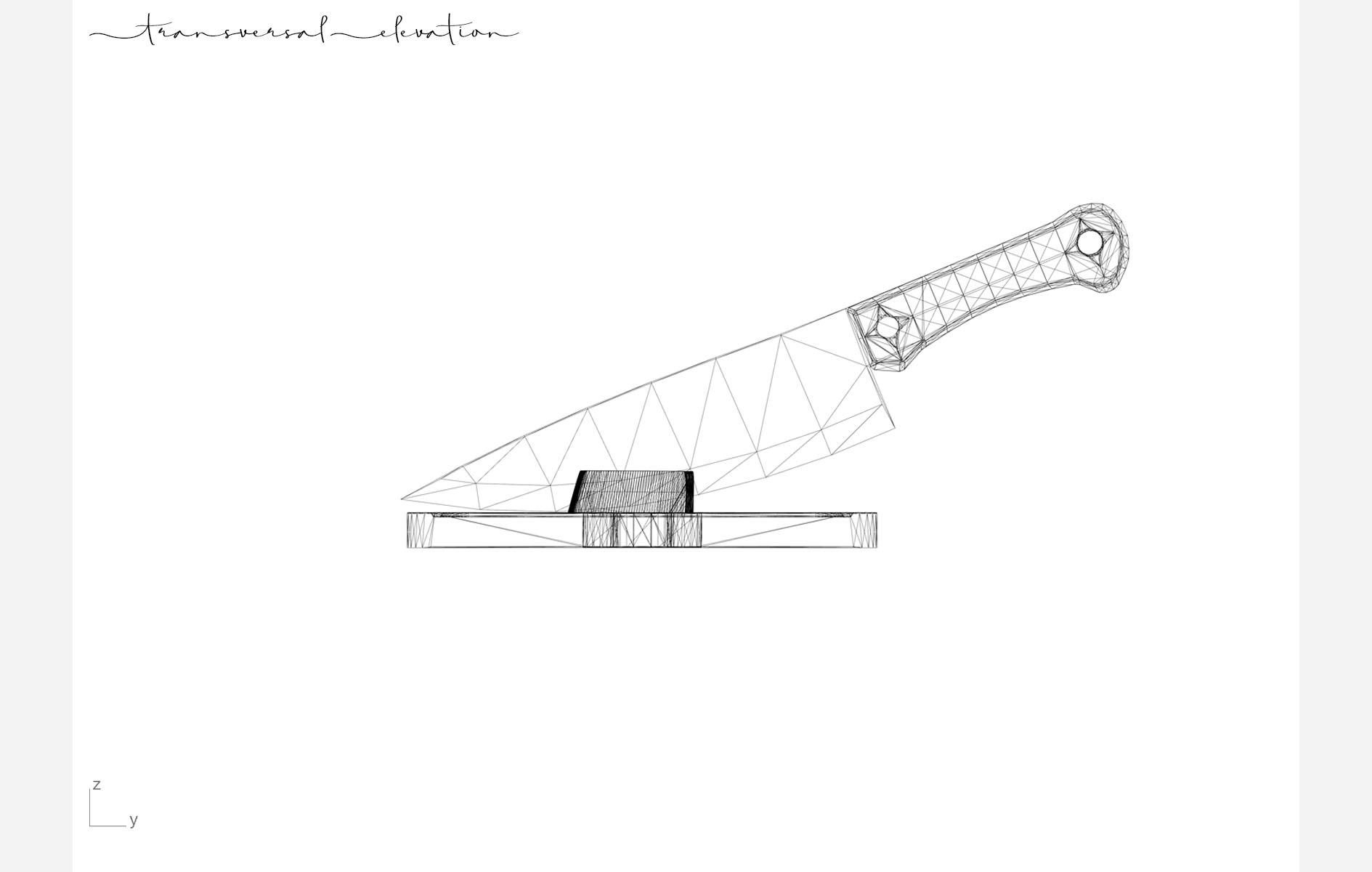 4 transversal elevation